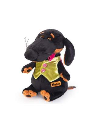 Мягкая игрушка BUDI BASA Собака Ваксон в жилетке 29 см