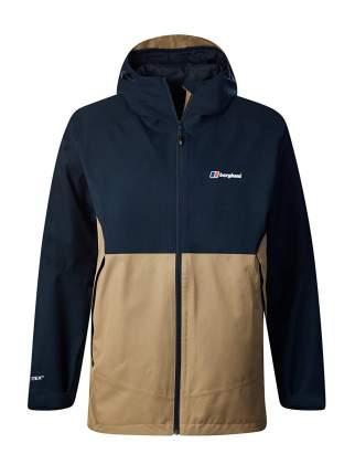 Спортивная куртка мужская Berghaus Fellmaster Shell, bd2 nat/dk blu/petrified oak/dusk, M