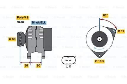 Генератор Bosch 0 986 041 960