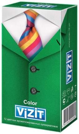 Презервативы Vizit Color ароматизированные 12 шт.