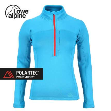 Пулон Lowe Alpine Powerstretch Zip Top 2016 женский голубой, L