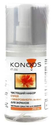 Чистящий комплект для экранов Konoos KT-200 200мл