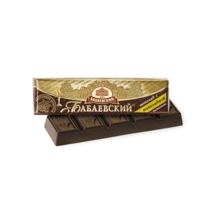 Шоколадный батончик Бабаевский темный с шоколадной начинкой 50 г 20 штук