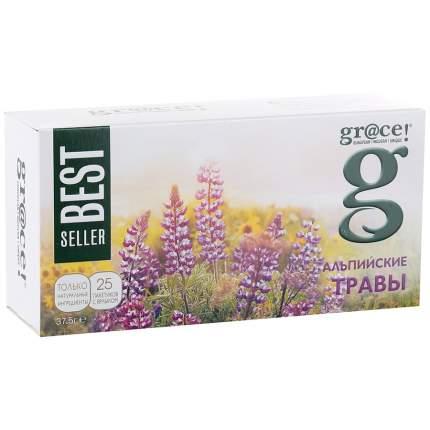 Чай травяной Grace альпийские травы 25 пакетиков