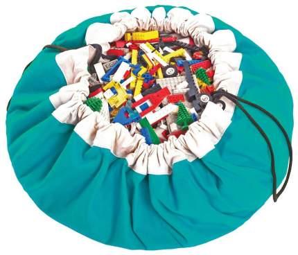 Мешок для хранения игрушек и игровой коврик 2в1 Play&Go Бирюзовый