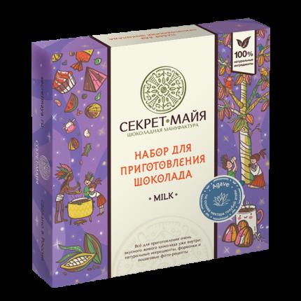 Набор для приготовления шоколада Секрет Майя милк агава