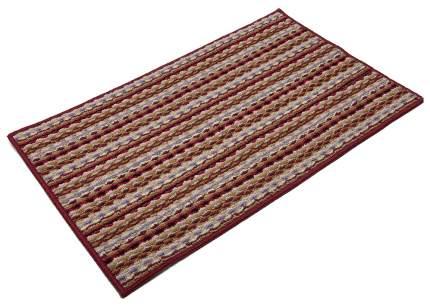 Коврик текстильный Vortex Spark красный 40x60 см