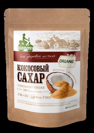 Сахар Bionova органический кокосовый 200  г