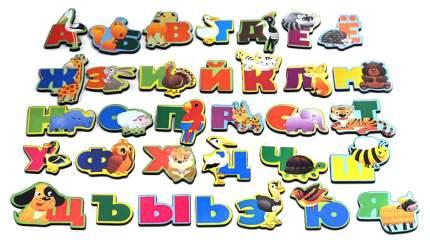 Русский алфавит на магнитах Мастер игрушек Животный мир