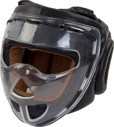 Боксерский шлем Jabb JE-2104 черный XL