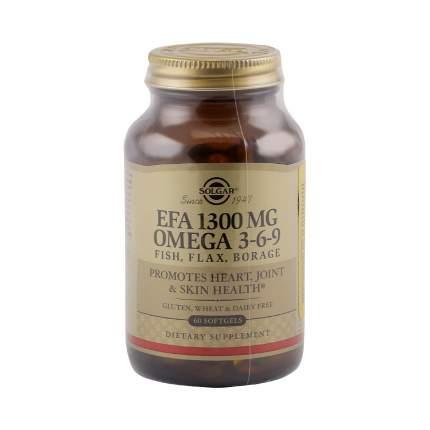 Solgar ЭЖК 1300 омега 3-6-9 капсулы 1300 мг 60 шт.