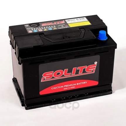 Аккумулятор автомобильный Solite CMF57413 74А/ч 690А полярность прямая