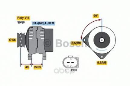 Генератор Bosch 0986041500