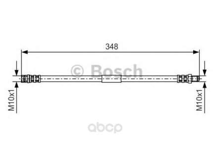 Шланг тормозной Bosch 1987476080