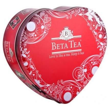 Чай черный в пакетиках для чашки Beta Tea сердце 100 г