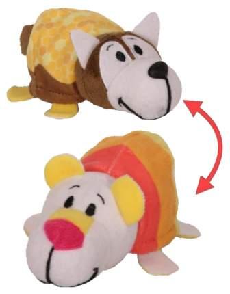 Игрушка-вывернушка 1 TOY Ням-Ням Хаски-Полярный мишка Медовая глазурь-Мороженое 12 см
