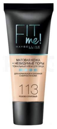 Тональный крем Maybelline Fit Me 113 Розово-опаловый 30 мл