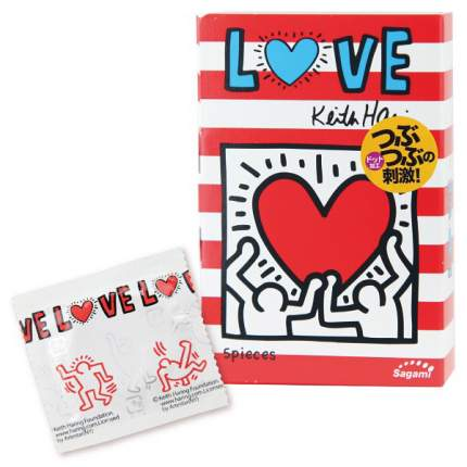 Презервативы Sagami Love Keith Haring 12 шт.