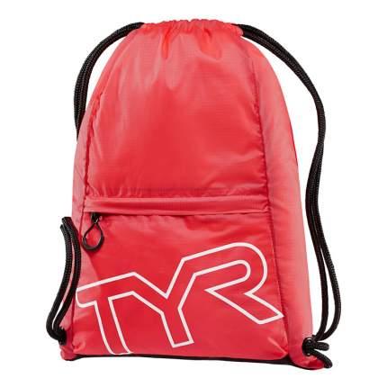 Мешок TYR Drawstring Backpack, 13 л, 610 red
