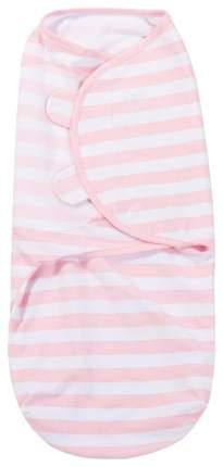 Конверт на липучке Summer Infant Swaddleme S/M розовые полоски