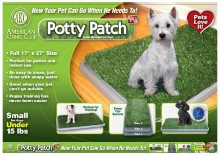 Туалет-лоток для собак Pet Park Potty Patch с искусственной травой