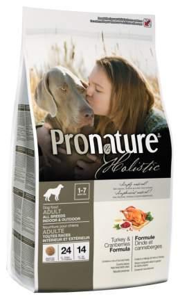 Сухой корм для собак Pronature Holistic Adult, индейка, 2.72кг