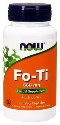 Добавка для здоровья NOW Fo-Ti 100 капс. натуральный