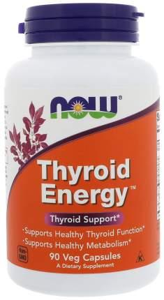 Добавка для здоровья NOW Thyroid Energy 90 капс.