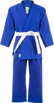 Кимоно для дзюдо Green Hill MA-302 синее, р.3/160