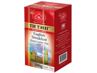 Чай весовой черный Ти Тэнг English Breakfast O.P. 200 г