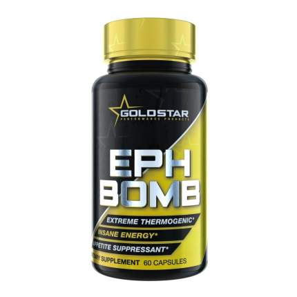 Жиросжигатель GoldStar EPH Bomb, 60 капсул