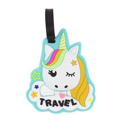 Бирка для багажа Kawaii Factory Unicorn traveler