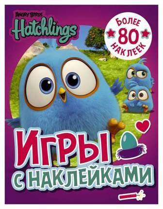 Angry Birds. Hatchlings. Игры С наклейками