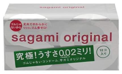 Презервативы Sagami Original ультратонкие 12 шт.