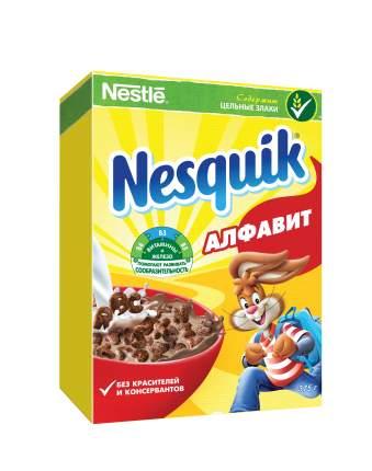 Готовый завтрак шоколадный Nesquik алфавит 375 г