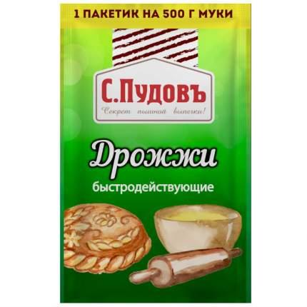 Дрожжи быстродействующие хлебопекарные С.Пудовъ 6 г