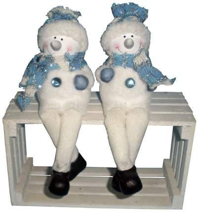 Фигурка новогодняя Snowmen Снеговичок в шапке