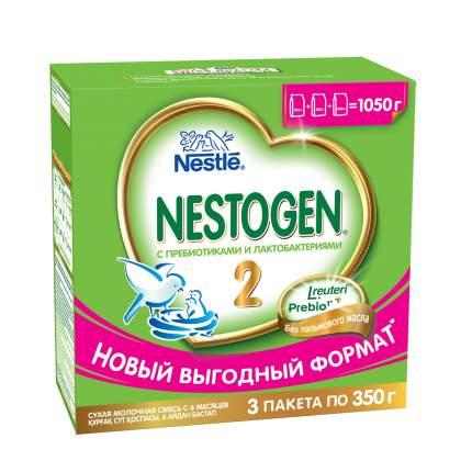 Сухая молочная смесь Nestogen 2 для детей с 6 месяцев, 1050 г