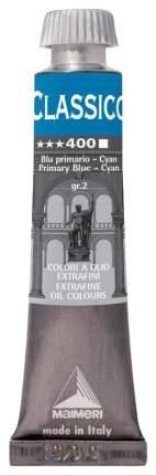 Масляная краска Maimeri Classico синий основной циан 20 мл