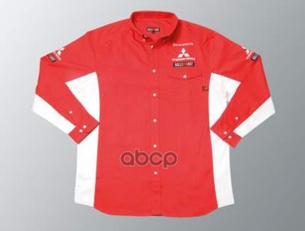 Рубашка rally art Mitsubishi MME50187 красная размер xxl