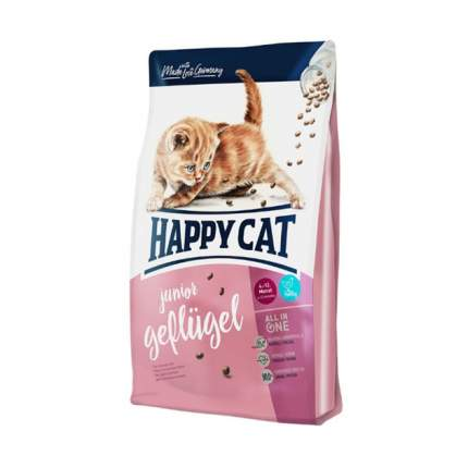 Сухой корм для котят Happy Cat Supreme Kitten Geflugel, домашняя птица, 4кг