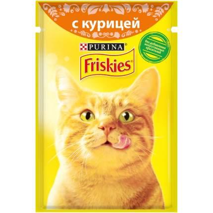 Влажный корм для кошек Friskies, с курицей, 24шт по 85г