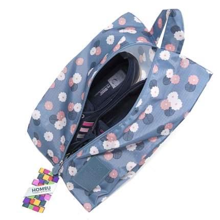 """Чехол для обуви """"Синий Цветок"""""""
