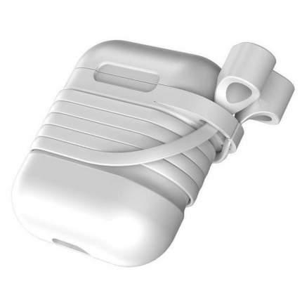 Чехол Baseus Silicone для AirPods White