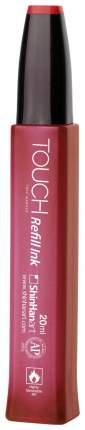 Заправка для маркера Touch на спиртовой основе, 20 мл, цвет: 012, красныйкоралловый