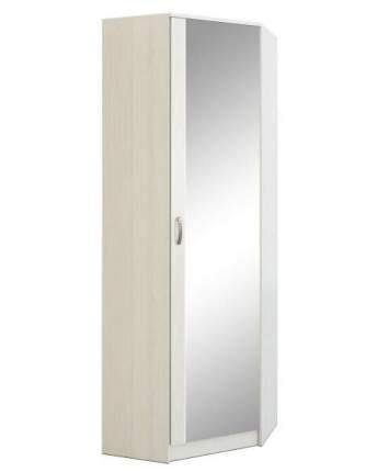 Платяной шкаф MFMaster МСТ-ПДО-ШУ-З2 70х70х200, белый