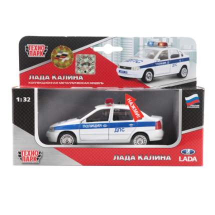 Полицейская Машинка Технопарк Лада Калина ДПС 1:32