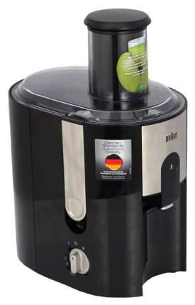 Соковыжималка центробежная Braun J500 black