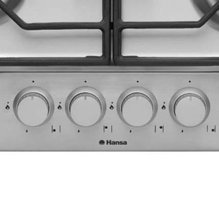 Встраиваемая варочная панель газовая Hansa BHGI63111035 Silver