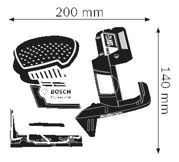 Акк. вибрационная шлифовальная машина Bosch GSS 18V-10 06019D0200 БЕЗ АККУМУЛЯТОРА И З/У